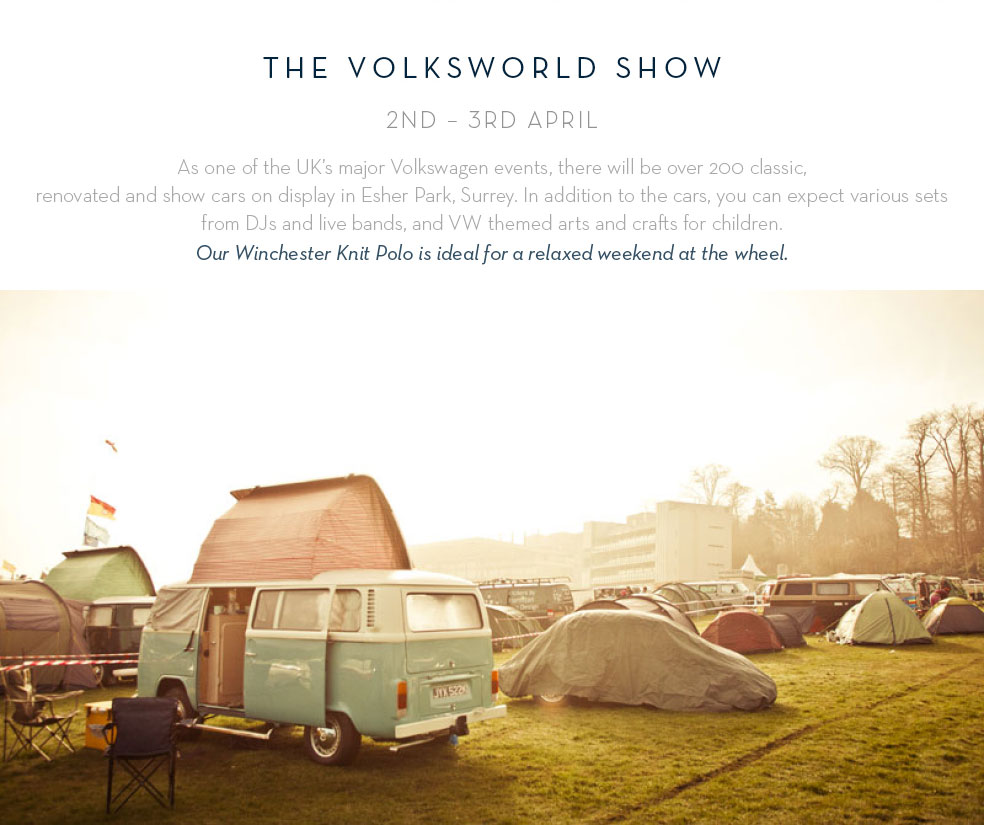 The Volksworld Show: 2nd - 3rd April