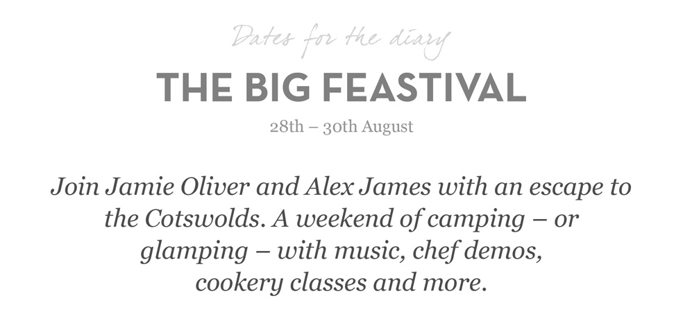 The Big Feastival 29th - 30 August