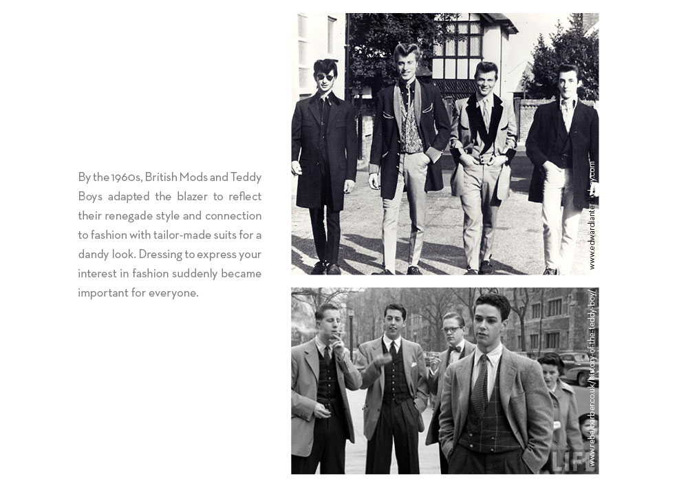 British Mods and Teddy Boys