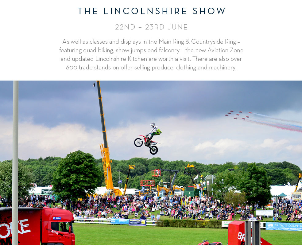 The Lincolnshire Show