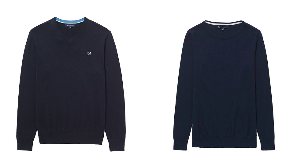 The Navy Knit
