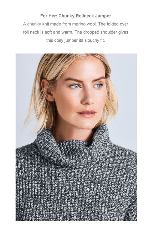 Chunky Rollneck Jumper
