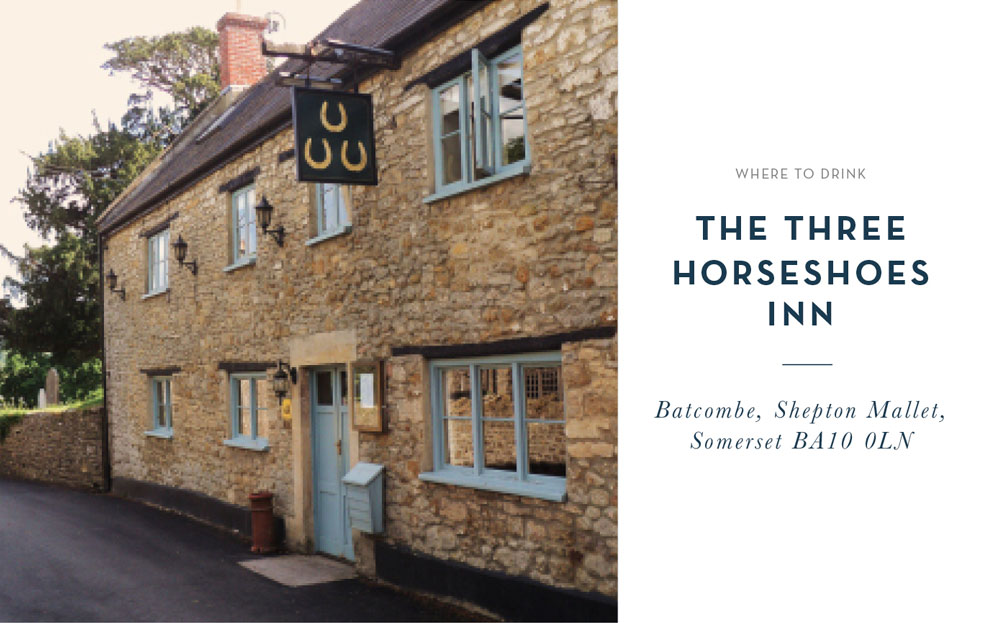 Where to Drink: The Three Horseshoes Inn
