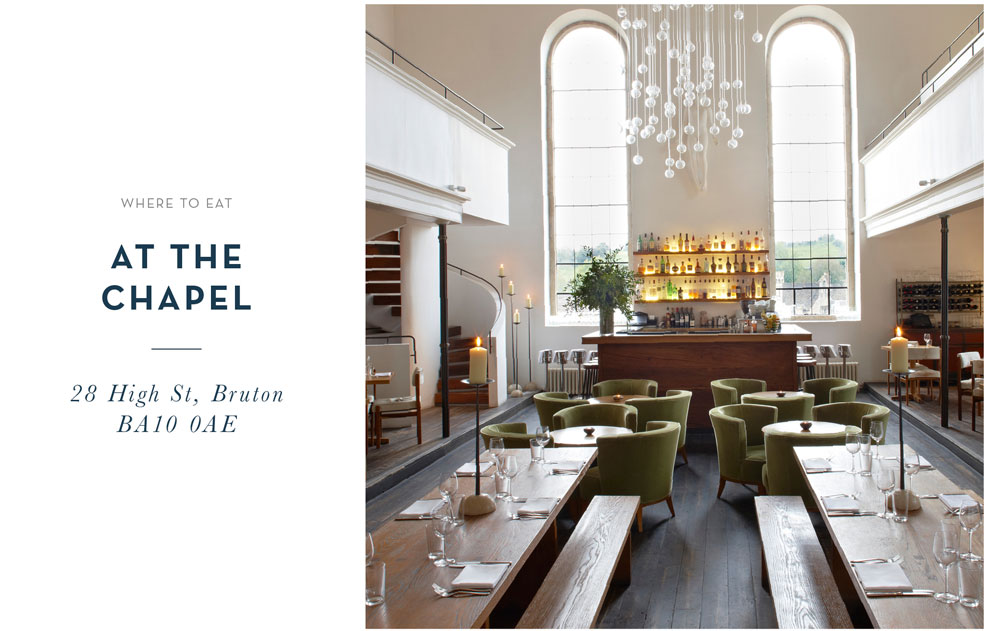 Where to Eat: At the Chapel