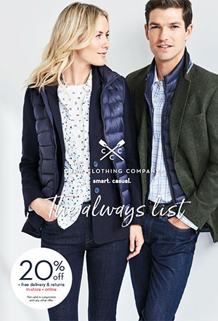Crew Clothing Catalogue