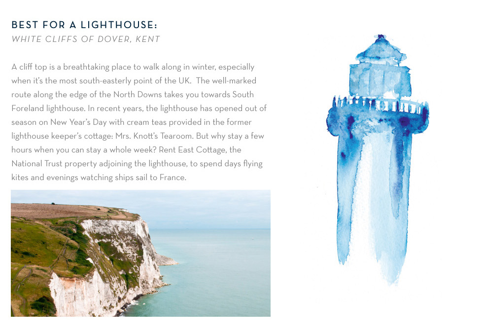 Best for a lighthouse: White Cliffs of Dover, Kent