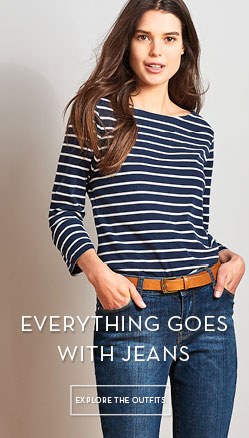 Everything Goes With Jeans. Explore the outfits