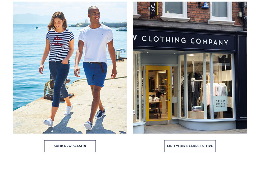 Shop New Season - Find Your Nearest Store