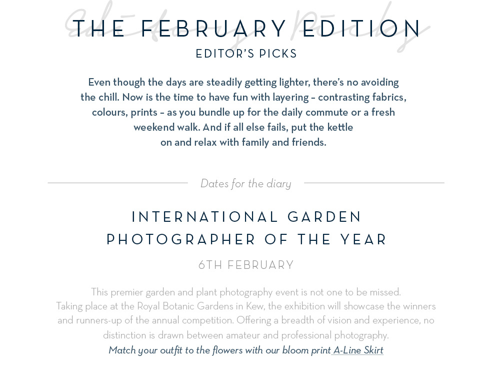 International Garden Photographer of the year - 6th February
