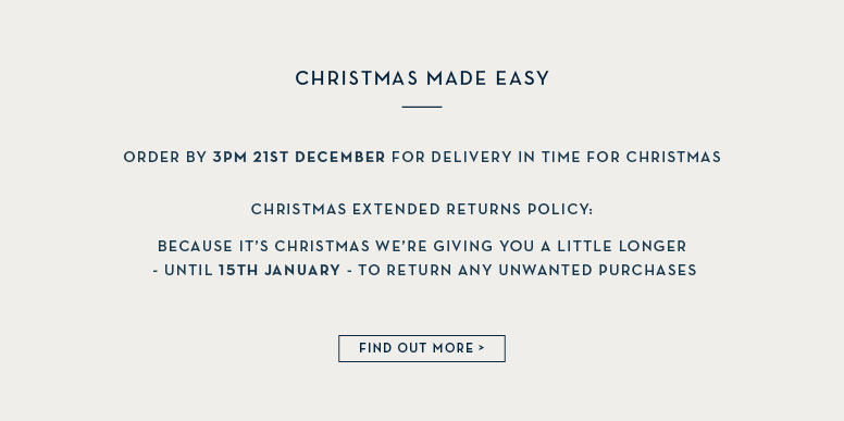 Christmas Made Easy - Delivery Dates