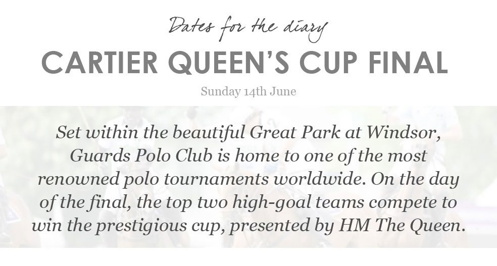 Cartier Queen's Cup Final - Guards Polo Club
