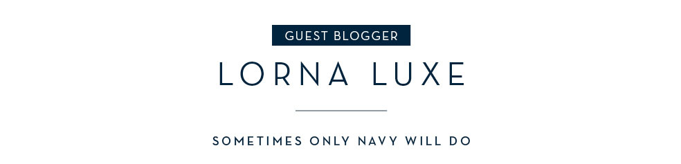 Guest blogger: Lorna Luxe