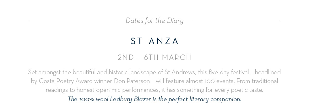St Anza: 2nd - 6th March