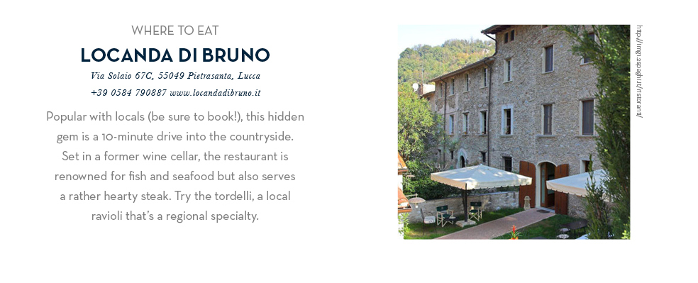 Where To Eat - Locanda Di Bruno