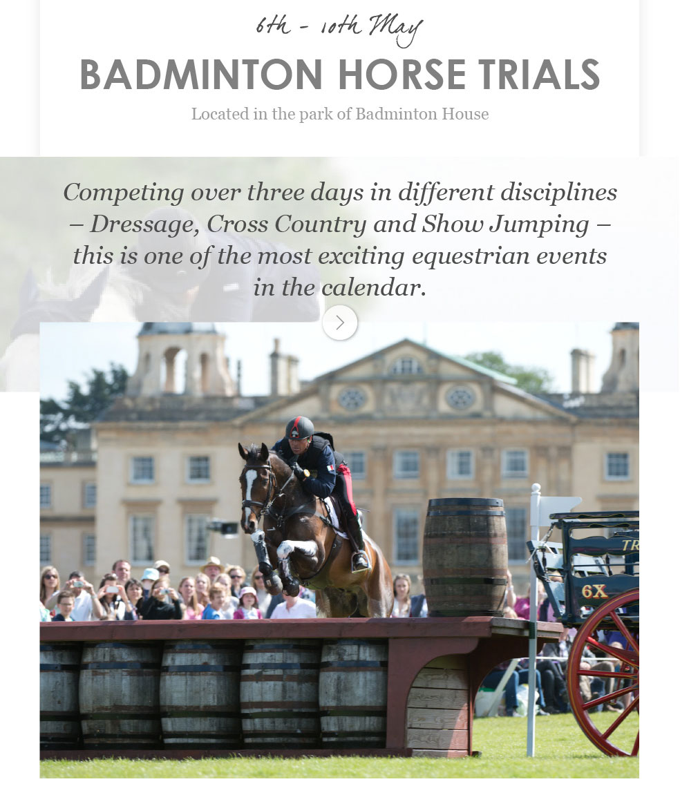 Badminton Horse Trials - 6th - 10th May
