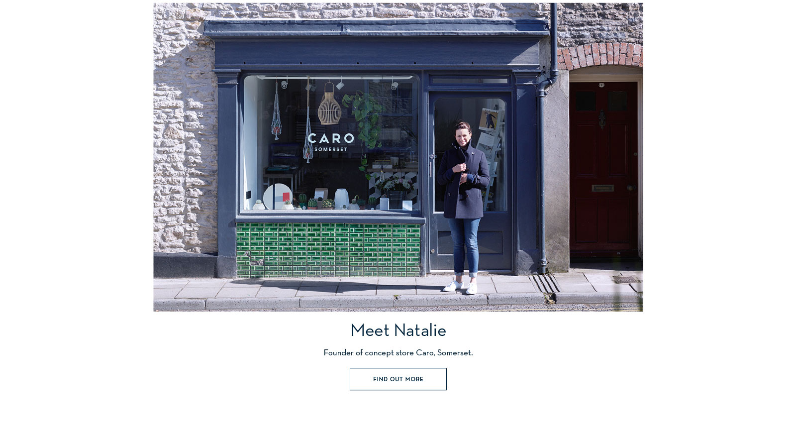Meet Natalie - Founder of concept store Caro, Somerset