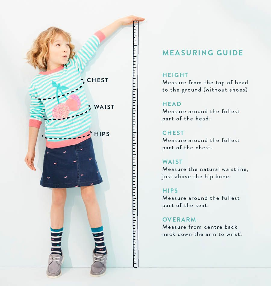 Boy's Measuring Guide