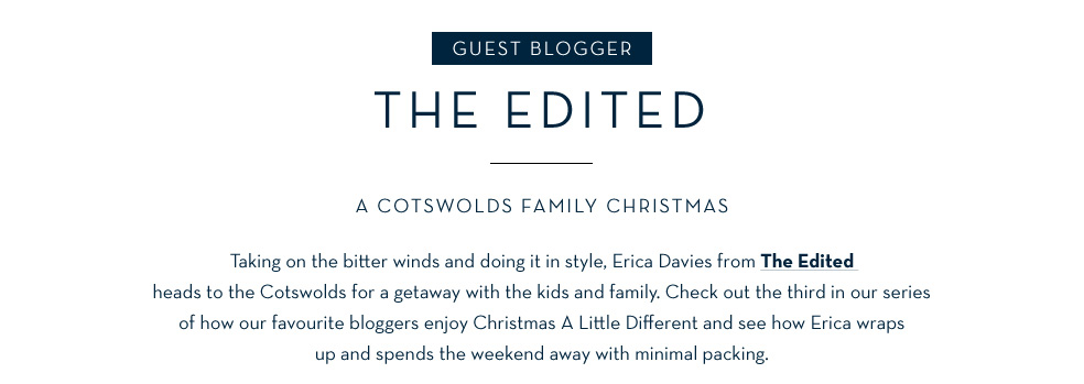 Guest blogger The Edited