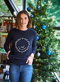 Noel Jumper navy