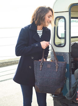 Cheltenham Tote Bag in Tweed