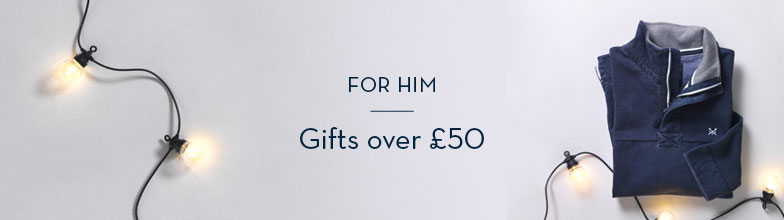 Gifts over £50