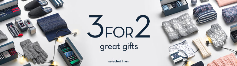 3 for 2 Gifts