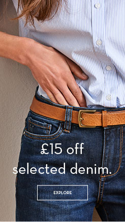 £15 Off Selected Denim