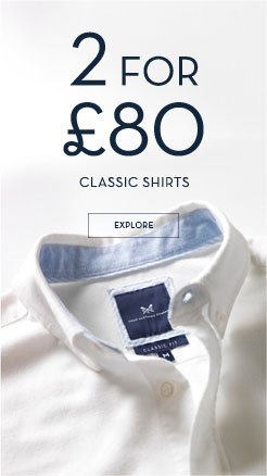 2 for £80 Men's Selected Shirts