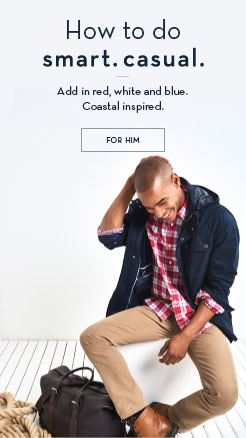Smart. Casual. Coastal Revival