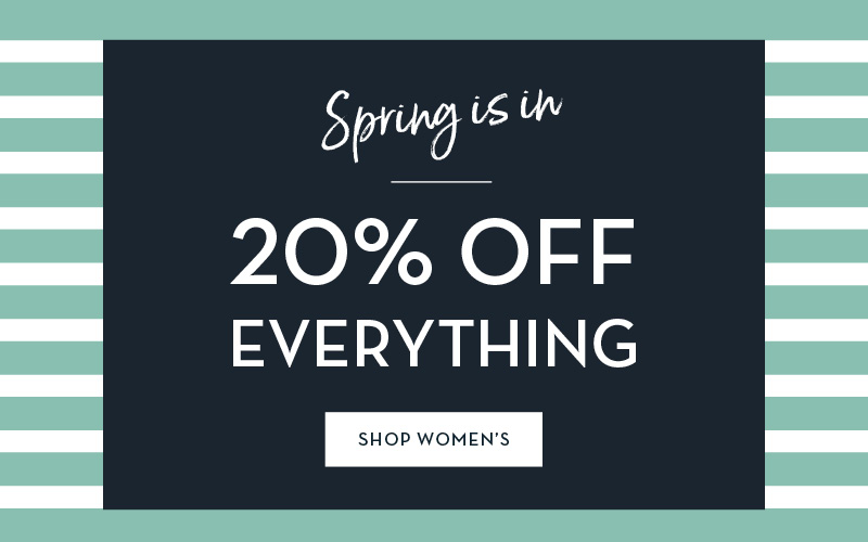 20% OFF ALL WOMENS