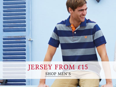 Sale - Men's Jersey from £15