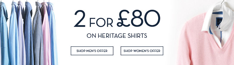 2 for £80 on Classic Shirts