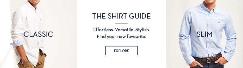 Men's Shirts classic slim shirt guide