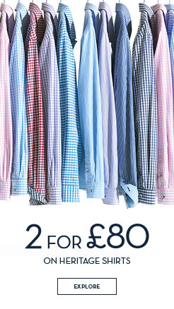 Men's 2 for £80 Heritage Shirts