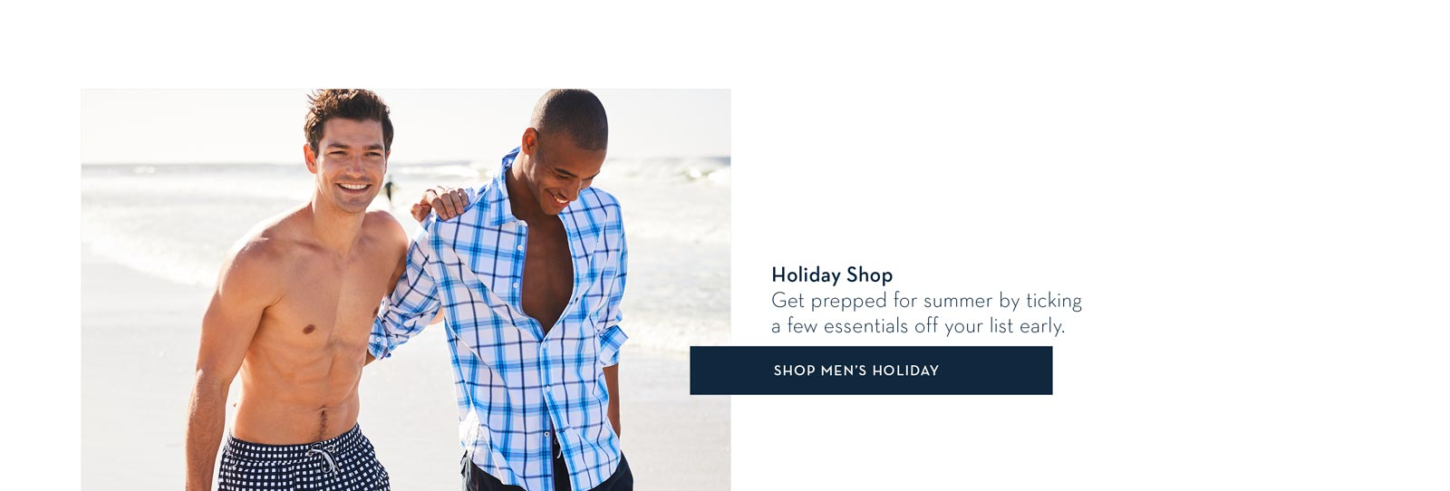 Shop Men's and Women's Holiday Shop