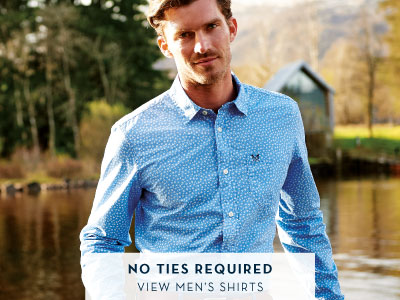 No ties required - View Men's Shirts