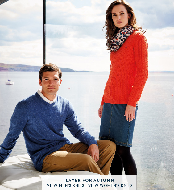 Layer For Autumn - Men's Knitwear | Women's Knitwear
