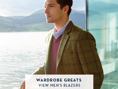 Wardrobe Greats - View Men's Blazers