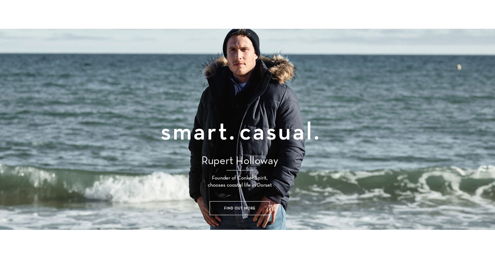 smart.casual. Rupert Holloway