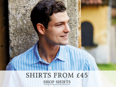 Shop Men's Shirts from £45