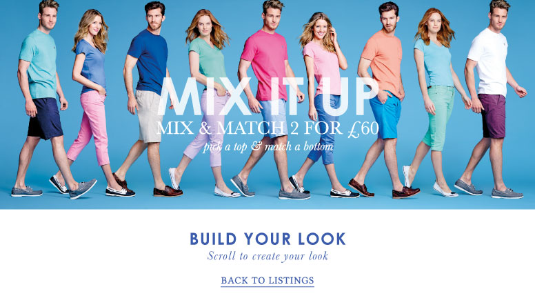 Mix It Up - Mix & Match 2 for £60