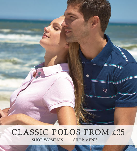 Shop Classic Polos from £35