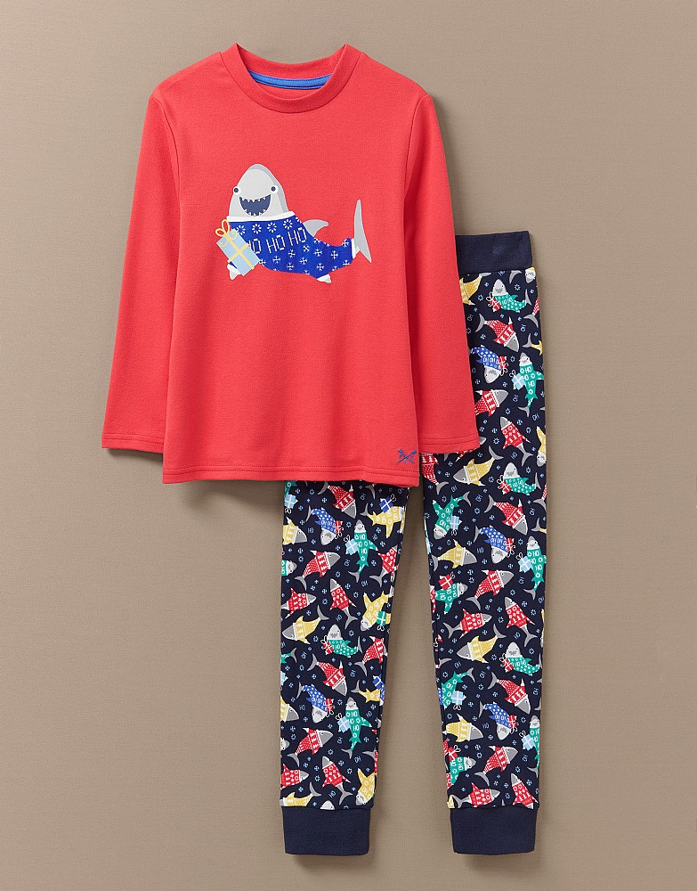 Sharks PJ Set