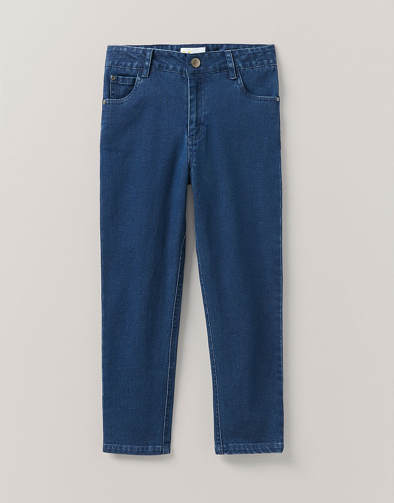 Skinny Fit Jean In Mid Wash Blue