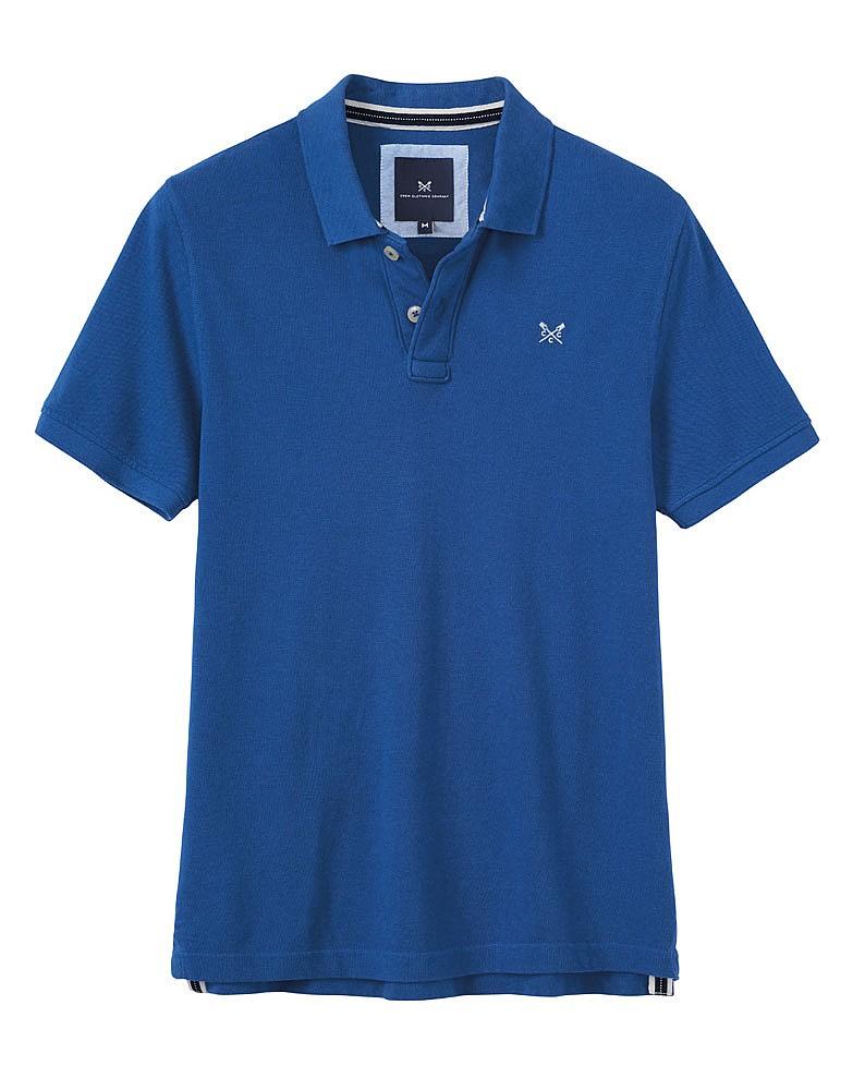 Classic Pique Polo - Lapis Blue