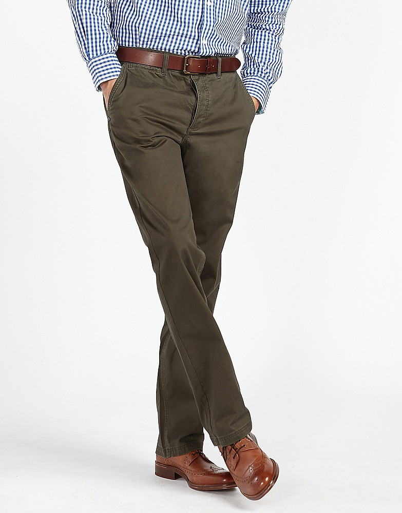 s vintage chino in khaki from crew clothing