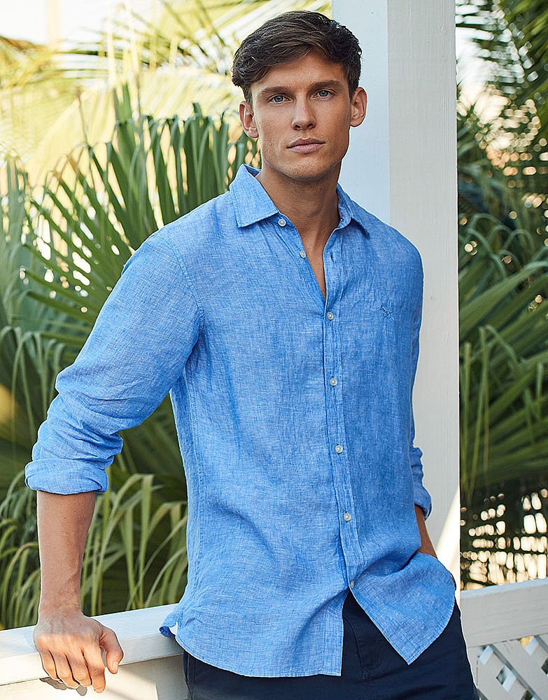 8e9250c1177 Men s LINEN SHIRT from Crew Clothing Company