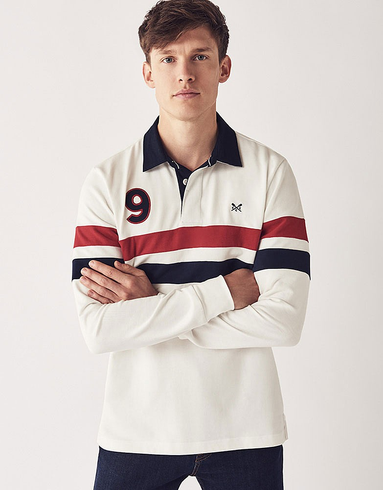 Twin Stripe Rugby Shirt