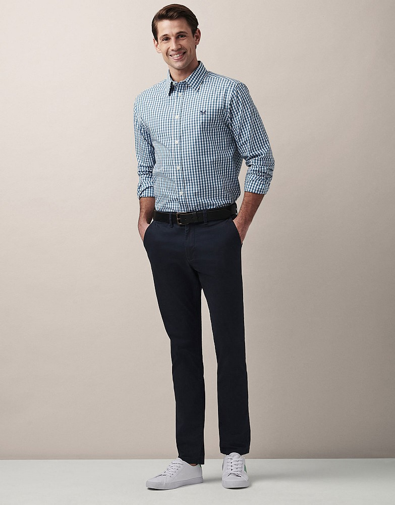 Heather Gingham Classic Fit Shirt