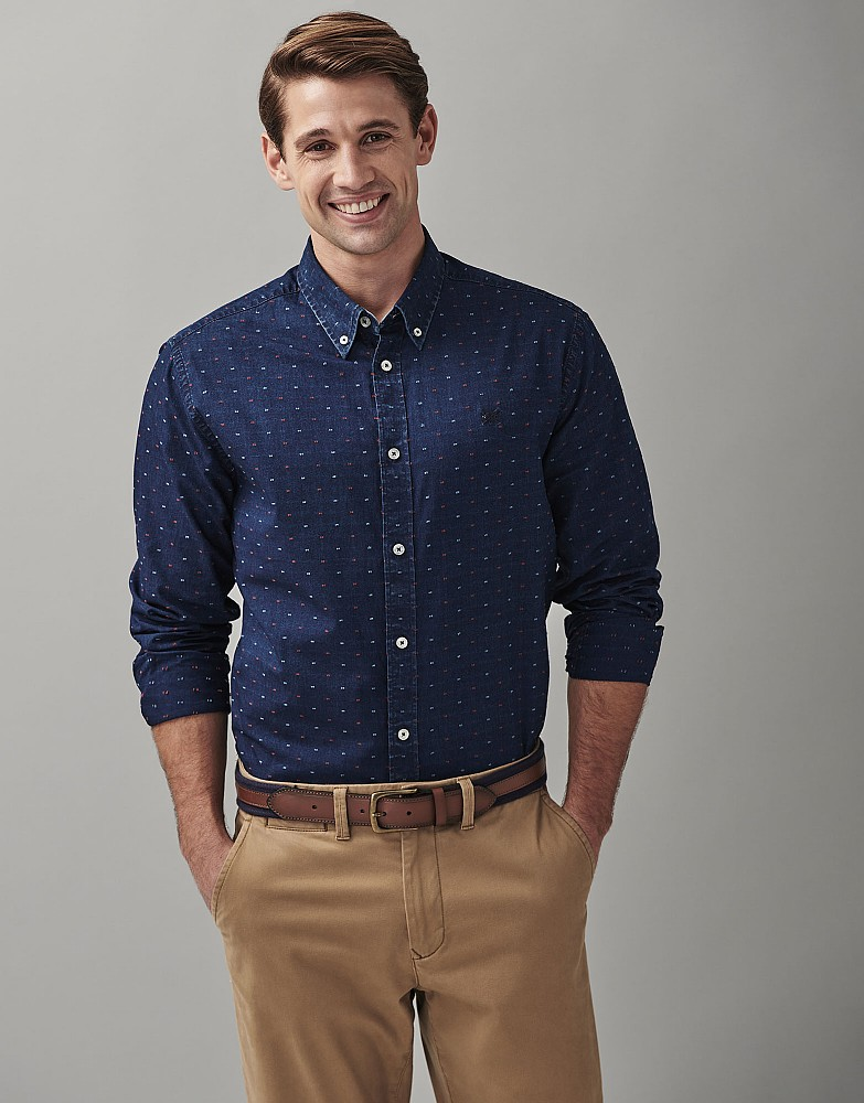 Southport Clipped Dobby Classic Fit Shirt